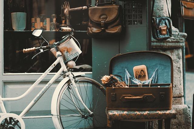 rower trekkingowy - walizka