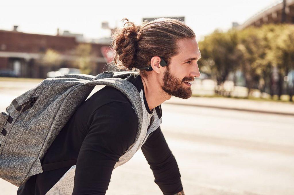 słuchawki na rower