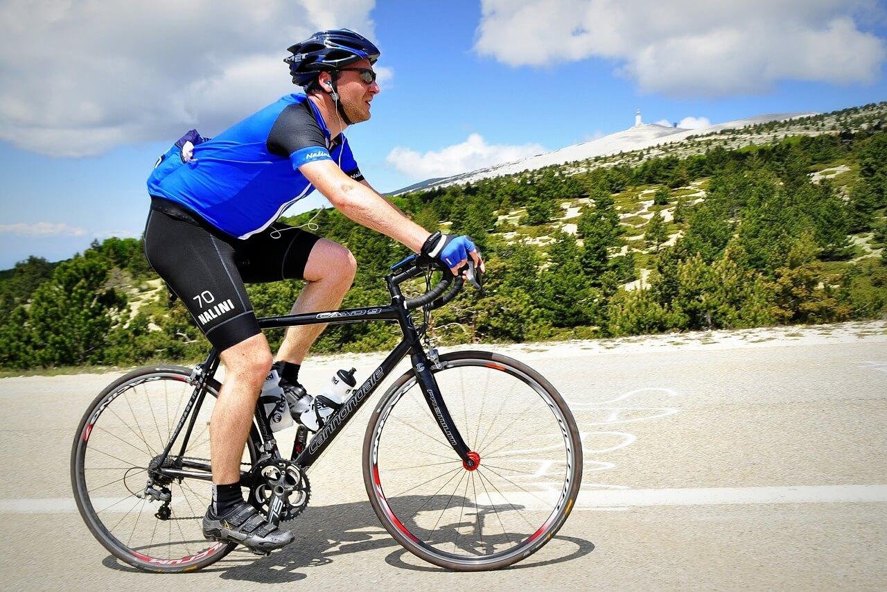 rower szosowy w trasie
